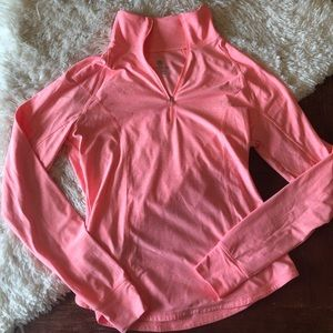 Old Navy   Coral Active Semi-Fitted Workout Top